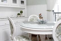 salas de jantar simples