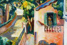 30 - Côte d'Azur - Peintres