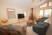 Pinon Valley Cabin / Welcome to Pinon Valley Cabin! One of Red River Real Estates new vacation rentals! Step inside this beautiful three bedroom, two bathroom home and feel right at home with wide open spaces!