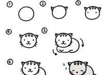 Cats -> Drawing