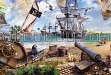 фотообои Пираты