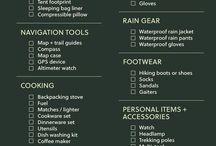 hiking lists