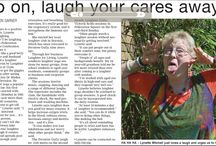 Laughter Yoga Media / Involved with laughter yoga as a hobby and business, I love to laugh and receive terrific media coverage.