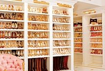 {Gorgeous Shoe Closets} / by JustPatience JustPatience