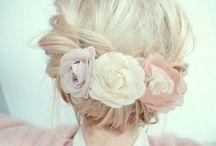 Brides maids hair