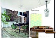 Interior ideas / It`s my ideas to make an interesting interior