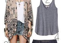 Coats, Kimonos, and Cardigans Oh My! / by Andrea Ramirez