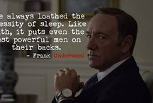 Frank Underwood thoughts