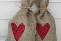 Burlap, Canvas and Ticking