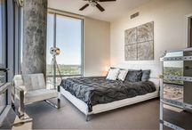 Sovereign Building, Houston / Modani designed the model unit for the Soverign building in Houston, Texas! Contact us to furnish your pre-construction sales centers or condo model units to increase sales and attract more buyers. http://bit.ly/1G3qLuc