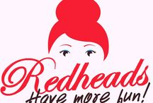 Redheads / Celebrating the wonder that is redheads (like me!) (or, just celebrating me!)