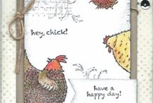 chicken cards