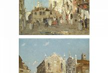 Italians Painting Italy / Favorites and masterful paintings of Italy by Italians through time.