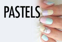 Pastel Nail Art & Nail Designs