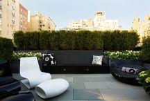 Design gradina pe acoperis, gradina pe terasa.
