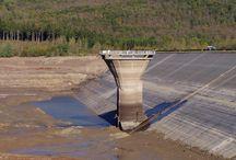 Wasserlose Talsperre