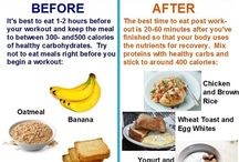 Pre and post workout meals