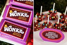Willy Wonka & Chocolate Factory / by MKR Creations