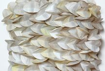 """Akiko Sugiyama / """"A plain flat sheet of paper is the starting point for expressing my mood or satisfying a sculptural urge."""""""