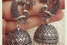 Oxidised ornaments