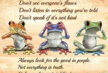 Hear, see and speak no evil!