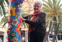 Yarn bombing Jackalberry