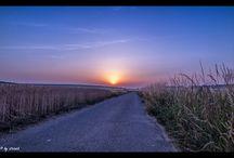 Sunset | Sunrise / Sonnenaufgänge....hier und da :)
