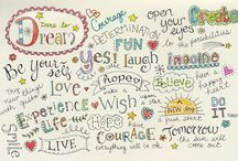 Lettering / by Stacey C
