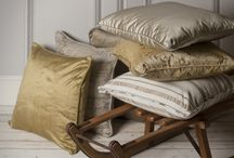 We Love Soft Furnishings / Our beautiful collection of handmade traditional soft furnishings
