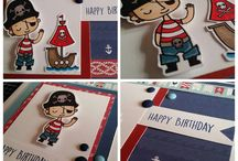 Pirate Birthday A1186