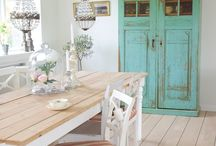 shabby vintage furniture