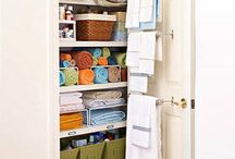 Organizing Tips / Life can be easier if you have strategy and an organized place to live and work in!