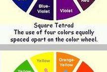цвета сочетания