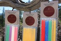 Beeswax Candles Gala / When the ordinary isn't good enough for your extraordinary event!