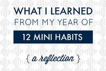 Change. Habits.