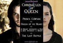 Chronicles of Queen - Queen of my Heart / Immagini da me create per la mia serie di fanfiction, ispirata ai libri e film delle Cronache di Narnia, ed edita sul sito www.efpfanfic.net  *********************************** Images by me for my fanfiction series, inspired by the books and movies of the Chronicles of Narnia, and published on the site www.efpfanfic.net