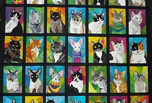 Quilts cats.