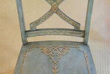 Pоспись мебели - стулья