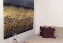 Väggbilder och ljudabsorbenter / Bara som en vacker väggdekoration eller kombination av dekoration och ljudabsorbent.