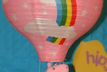 Peppa Pig Party / Peppa Pig Party Ideas - Decorations, presents, invites etc