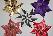 Origami  Star / star diagrams etc...