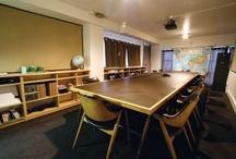 escuela  / classrooms/work space/workshop/meeting rooms / by Estrella Hood