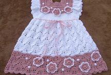 kids clothing Crochet Dresses