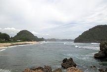 PANTAI GUA CINA, MALANG SELATAN, INDONESIA