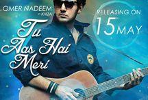 Tu Aas Hai Meri Lyrics – Omer Nadeem And Khiza