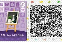 〃 animal crossing's QR-codes. - accessories.