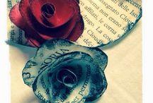 Rose di Carta / Come realizzare Rose di Carta