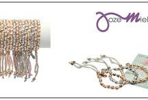 Rakhi Balance by Jozemiek 2015 / New Rakhi Balance collection. 8 colors, 3 options charms: silver, gold or rose gold