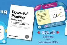 Black Friday Deal 2017 / 50% off Conquering Cursive™ and Powerful Printing™ Software & PDF Workbooks now until midnight Friday 11/24/17. Use Code: BLACKFRI50