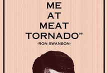 Ron Swanson/Nick Offerman / Name speaks for itself.